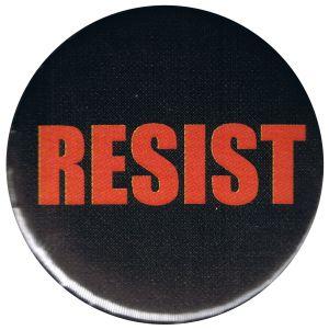 25mm Magnet-Button: RESIST