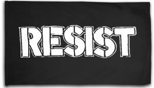 Fahne / Flagge (ca. 150x100cm): Resist