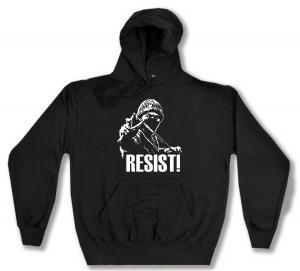 Kapuzen-Pullover: Resist!