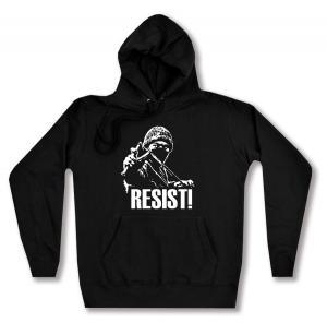 taillierter Kapuzen-Pullover: Resist!