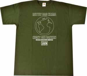 T-Shirt: Rettet das Klima