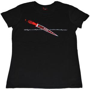 tailliertes T-Shirt: Revenge