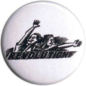 50mm Magnet-Button: Revolution