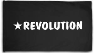Fahne / Flagge (ca. 150x100cm): Revolution