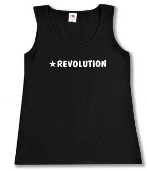 tailliertes Tanktop: Revolution