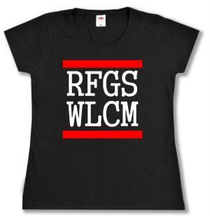 tailliertes T-Shirt: RFGS WLCM
