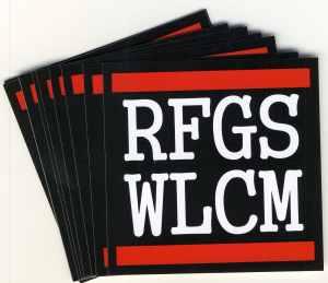 Aufkleber-Paket: RFGS WLCM