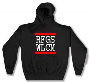 Kapuzen-Pullover: RFGS WLCM