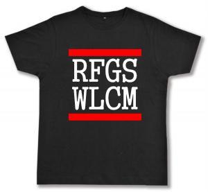 Fairtrade T-Shirt: RFGS WLCM