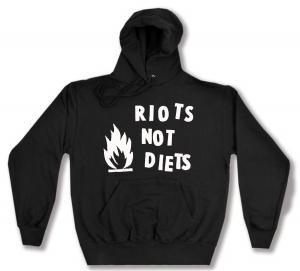 Kapuzen-Pullover: Riots not diets