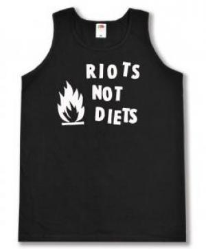 Tanktop: Riots not diets
