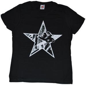 tailliertes T-Shirt: Riotstar