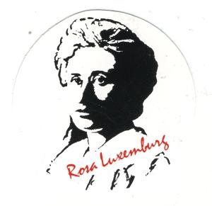 Aufkleber: Rosa Luxemburg