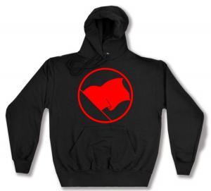 Kapuzen-Pullover: Rote Fahne