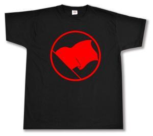 T-Shirt: Rote Fahne
