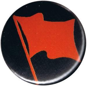 50mm Magnet-Button: Rote Fahne