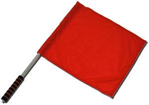 Fahne / Flagge (ca. 40x35cm): Rote Fahne