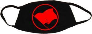 Mundmaske: Rote Fahne