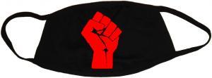 Mundmaske: Rote Faust