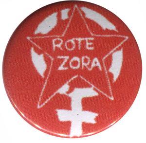 50mm Button: Rote Zora