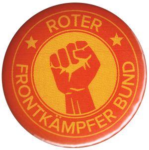 37mm Magnet-Button: Roter Frontkämpfer Bund