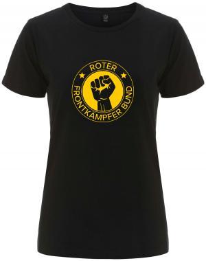 tailliertes Fairtrade T-Shirt: Roter Frontkämpfer Bund