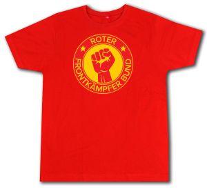 Roter Frontkämpfer Bund (Fairtrade T-Shirt, Sozialismus ... a8d4aa7155