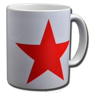 Tasse: Roter Stern