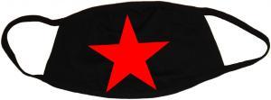 Mundmaske: Roter Stern