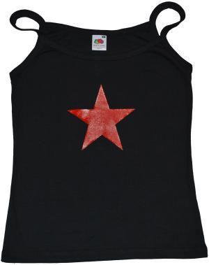 Top / Trägershirt: Roter Stern