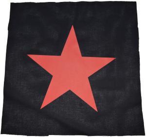 Rückenaufnäher: Roter Stern