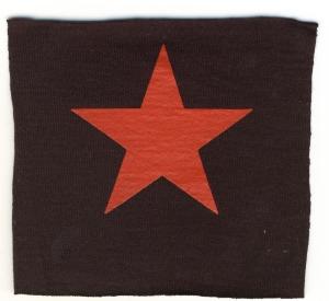 Aufnäher: Roter Stern