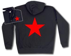 Kapuzen-Jacke: Roter Stern