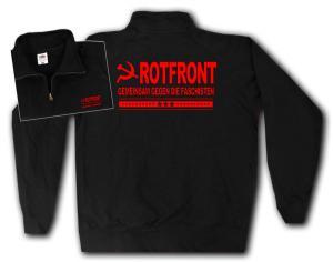 Sweat-Jacket: Rotfront - Gemeinsam gegen die Faschisten