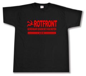 T-Shirt: Rotfront - Gemeinsam gegen die Faschisten