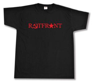 T-Shirt: Rotfront! (Hammer und Sichel und Stern)