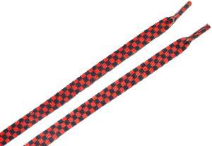 Schnürsenkel: Rot/schwarz karierte Schnürsenkel