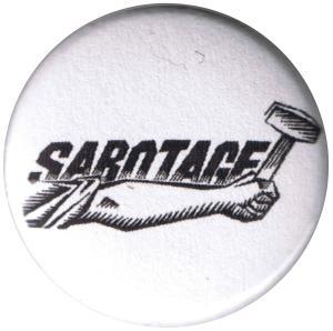 50mm Magnet-Button: Sabotage