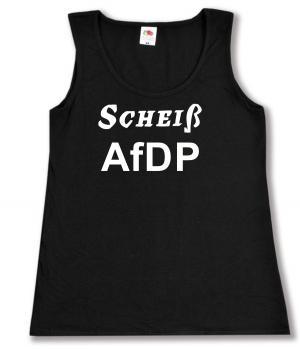 tailliertes Tanktop: Scheiß AfDP