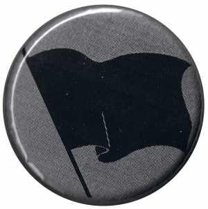 37mm Button: Schwarze Fahne