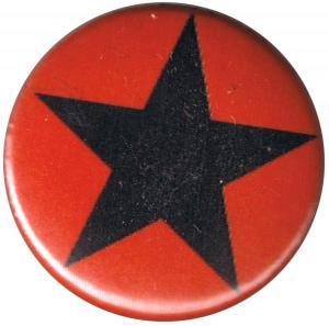 37mm Button: Schwarzer Stern