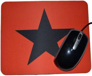 Mousepad: Schwarzer Stern