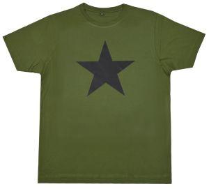 Fairtrade T-Shirt: Schwarzer Stern
