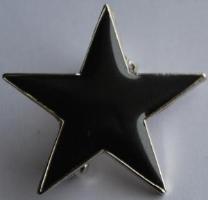 Anstecker / Pin: Schwarzer Stern