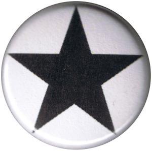 25mm Button: Schwarzer Stern