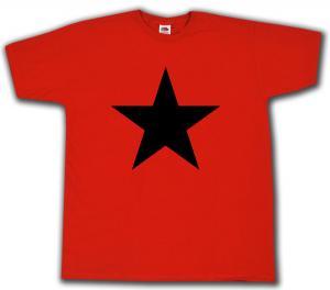 T-Shirt: Schwarzer Stern