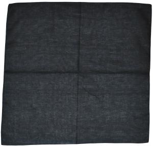 Halstuch: schwarzes Halstuch