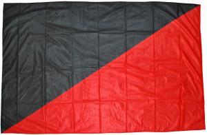 Fahne / Flagge: Schwarz/rote Fahne