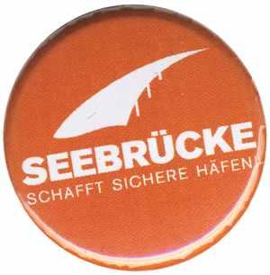 50mm Magnet-Button: Seebrücke