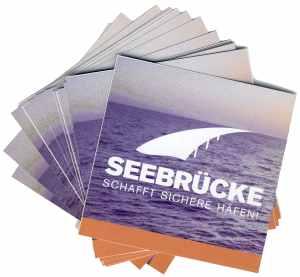 Aufkleber-Paket: Seebrücke (Meer)